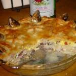 Stargazey pie