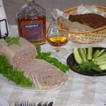 Antienos paštetas su konjaku ir pistacijomis