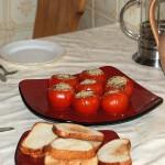 Grybais įdaryti pomidorai