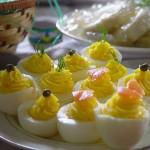 Velykiniai kiaušinių patiekalai